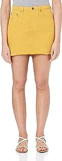 Rusty Women's YESTERDAYS Colour Denim Skirt
