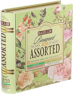 Tea Book Collection - Premium Green Tea Bouquet Assorted - 32 tea bags