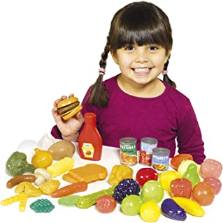 Casdon Kids Play Food Set Roleplay, Multicolor