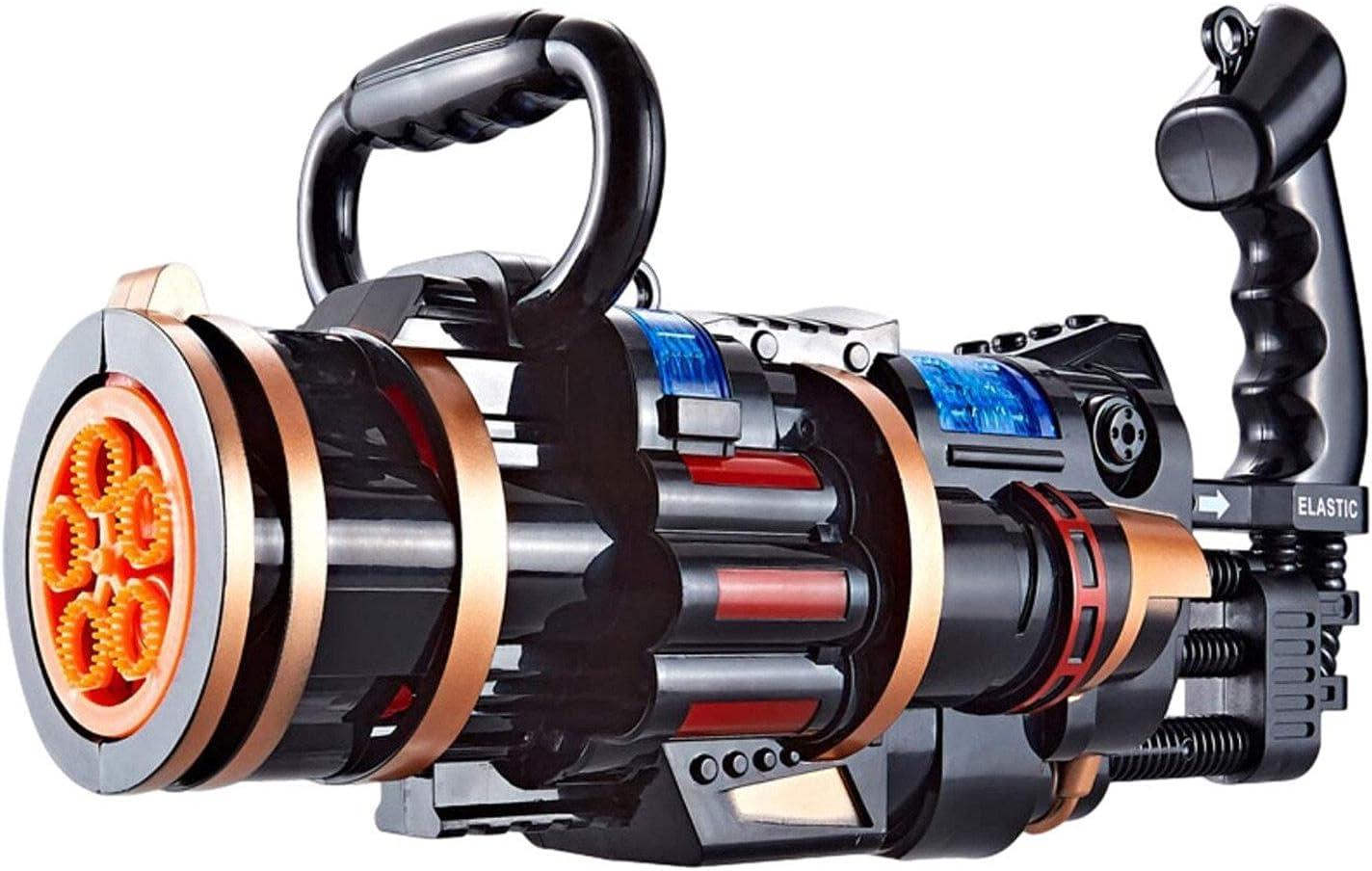 Gaohm2 Pcs Bubble Machine Bubble Maker Guns for Kids Gatling Aut