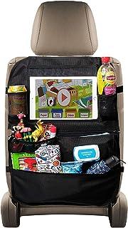 Protector del respaldo del automóvil Tableta organizadora del asiento trasero del automóvil para niños Soporte para pantalla táctil de 10