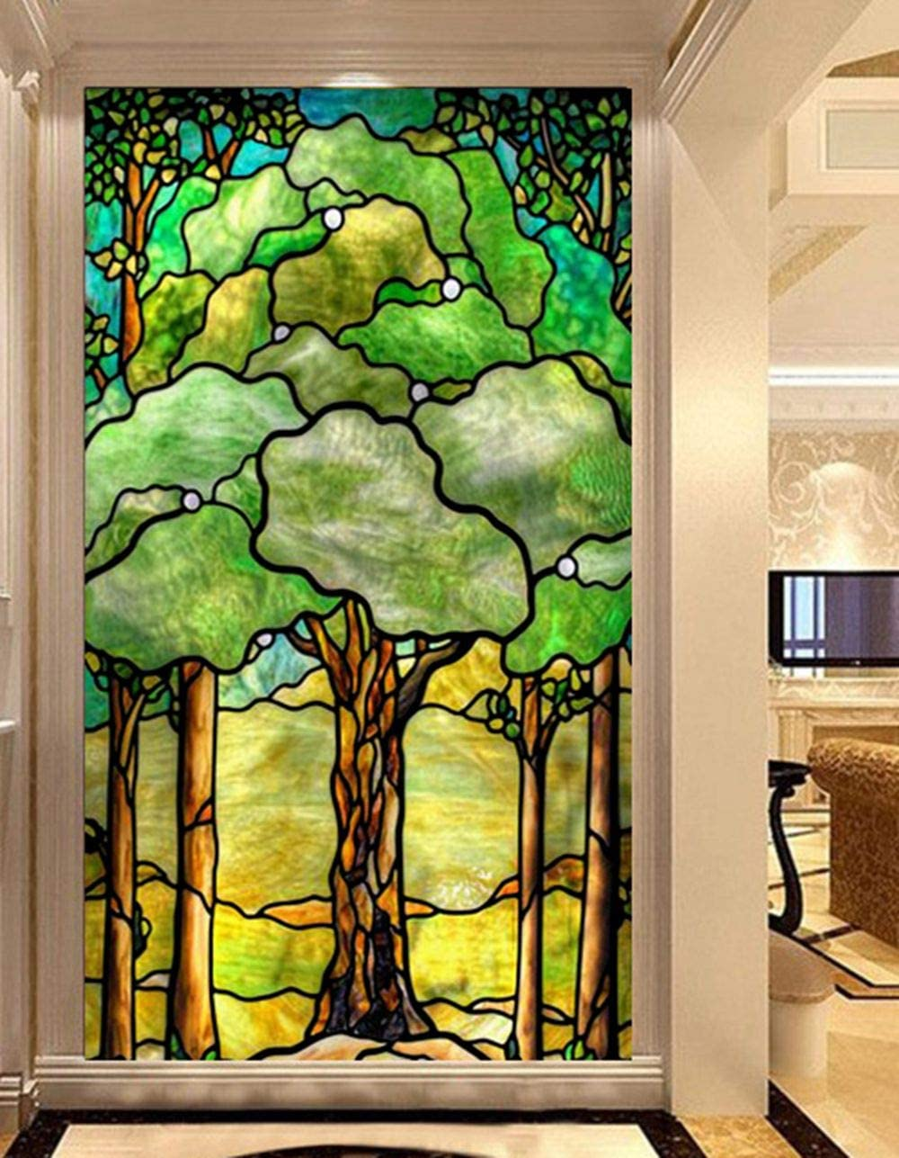 Recommended GGACEN Bathroom Max 83% OFF Privacy Window S Sticker Glass Film
