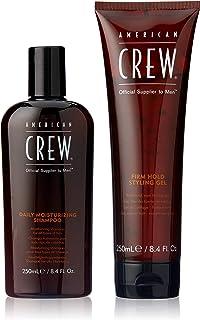 American Crew Daily Moisturizing Shampoo, 500ml (Pack of 2)