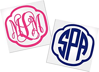 Monogram Sticker for Yeti, Your Choice of Color & Style | Decals by ADavis