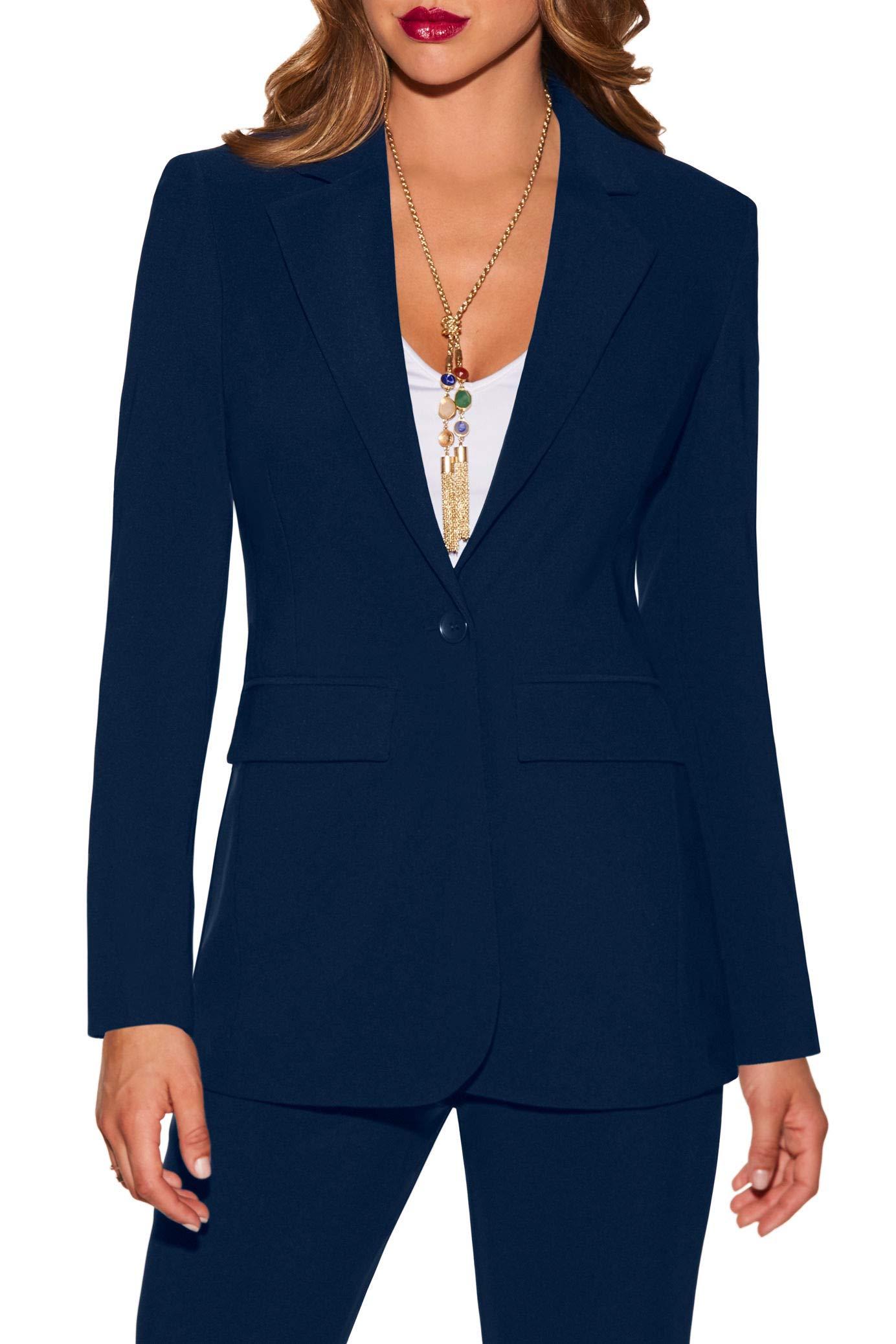 Boston Proper - Beyond Travel - Women's One Button Knit Boyfriend Blazer - Jackets for Women- Buy Online in Pakistan at desertcart.pk. ProductId : 139303990.