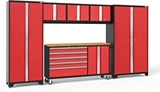 NewAge Products Bold 3.0 Red 6 Piece Set, Garage Cabinets, 56261