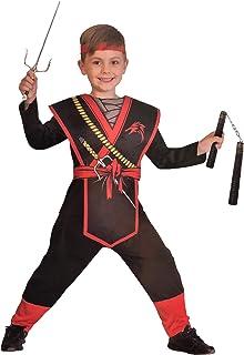 Seawhisper Ninja Kost/üm Kinder Jungen Schwarz Ninjago Schwert Faschingskost/üme Karnevalskost/üme Fasching Karneval Halloween Silber 98 104