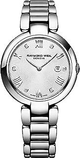 Women's Shine Swiss-Quartz Watch with Stainless-Steel Strap, Silver (Model: 1600-ST-00618)