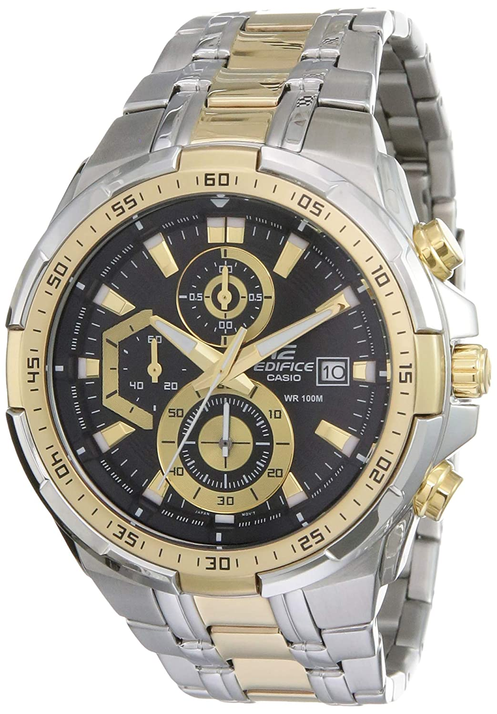 Casio Edifice Stopwatch Chronograph Multi-Colour Dial Men's Watch - EFR-539SG-1AVUDF (EX188)