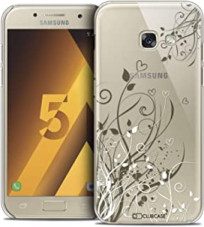 Samsung Galaxy A5 2017 Case, Ultra Thin Case Cover for Samsung Galaxy A5 2017 - Love Hearts Flowers