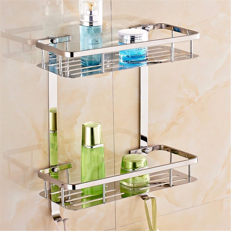 Stainless Steel 304 Bathroom Rack for Body wash Bottle Toilet Table Shelf Dresser Rack Holder,B