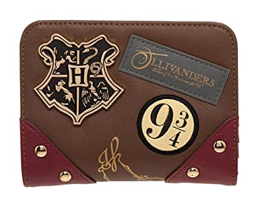 Harry Potter Diagon Alley Wallet Harry Potter 9 3/4 Wallet - Harry Potter Gift for Girls Harry Potter Wallet