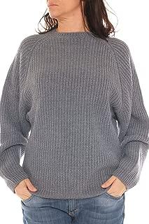 Trama grossa maglione lavorato a maglia spessa Larghi Maglione Donna Taglie Forti Oversize