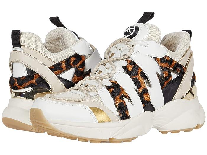 MICHAEL Michael Kors  Hero Trainer (Ecru) Womens Shoes