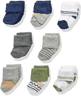 Unisex Baby Newborn and Baby Terry Socks