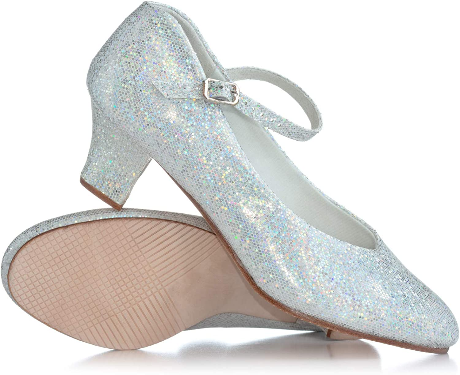 Theatricals Adult Starlite 1.5  Glitter Character shoes T3115