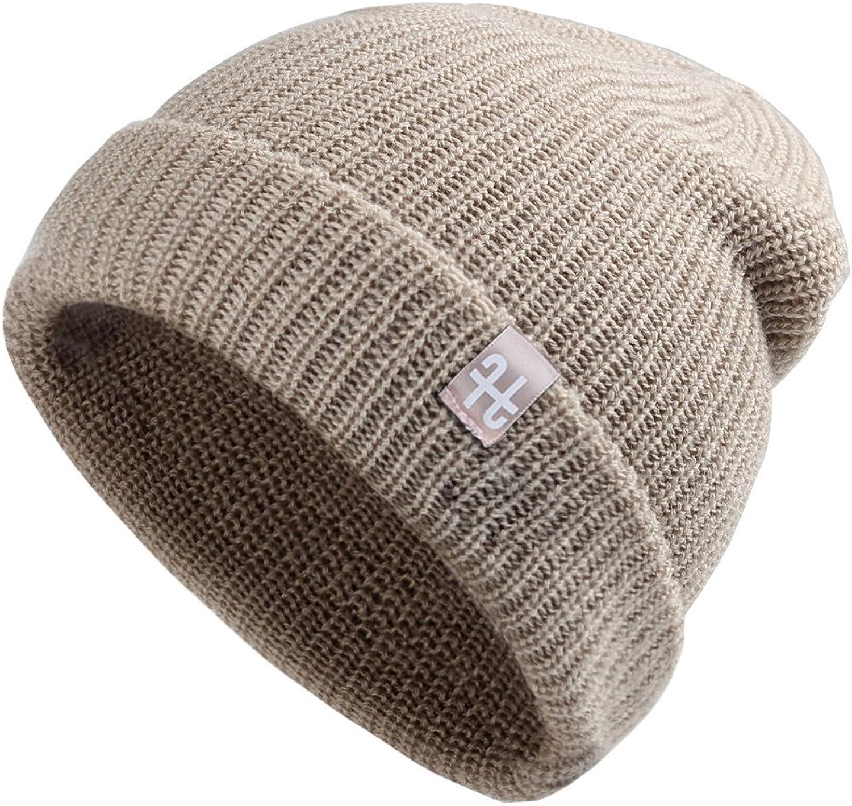 Unisex Winter Slouchy Beanie Hat  Merino Wool Knitted Ski Skull Cap For Women Men FURTALK Original
