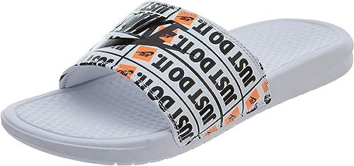 Nike Benassi JDI Print, Hauszapatos de Deporte para Hombre