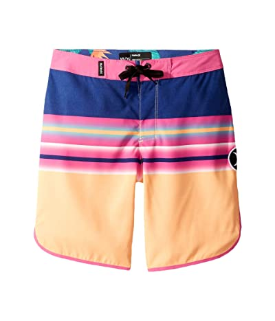 Hurley Kids Zen Boardshorts (Big Kids) (Orange Pulse) Boy
