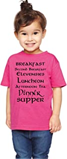 Brain Juice Tees Second Breakfast Lord of The Rings Unisex Toddler Shirt