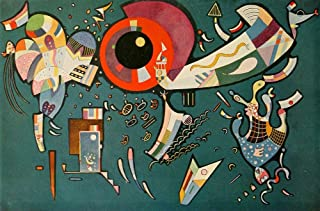 Posterazzi Around The Circle no.677 1940 Poster Print by Wassily Kandinsky, (24 x 36)