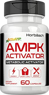 Horbaach AMPK Metabolic Activator 450 mg (60 Capsules) | Supports Weight Management | Non-GMO, Gluten Free | Jiaogulan Gyn...
