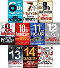 James Patterson Womens Murder Club Series 10 Books Collection Set (6 to 15)