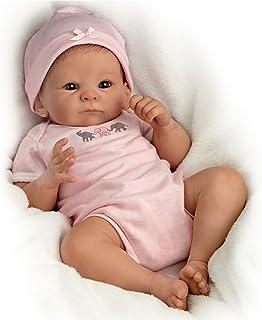 """The Ashton - Drake Galleries Tasha Edenholm So Truly Real Lifelike Poseable Baby Girl Doll: Little Peanut - 17"""""""