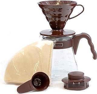 HARIO VCSD-02CBR kaffekanna, brun, storlek 02