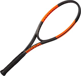 Wilson Burn 100ULS Tennis Racquet, Orange/Black