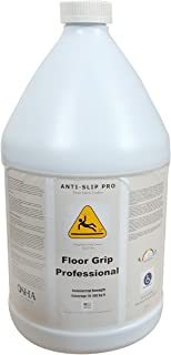 Anti Slip Pro Floor Grip Professional Non-Slip Floor Treatment for Tile and Stone to Prevent Slippery Floors. Indoor/Outdoor, Residential/Commercial, Works in Minutes for Increased Traction (Gallon)