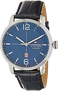 Tommy Hilfiger Casual Watch For Men Analog Leather - 1791216