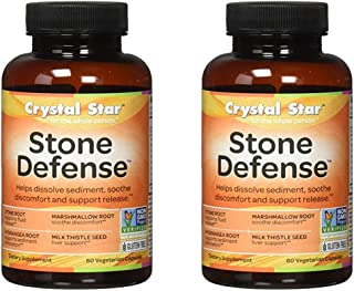 Crystal Star Kidney Care (formerly Stone Defense), 60 Vegetarian Capsules (2)