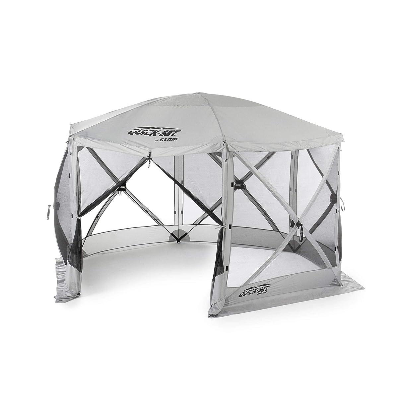 Quick Set Escape Portable Camping Outdoor Gazebo Canopy Shelter, Gray