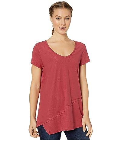 Aventura Clothing Renee Short Sleeve (Earth Red) Women
