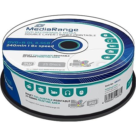 Mediarange Mr474 Dvd R Double Layer 8 5gb Computer Zubehör