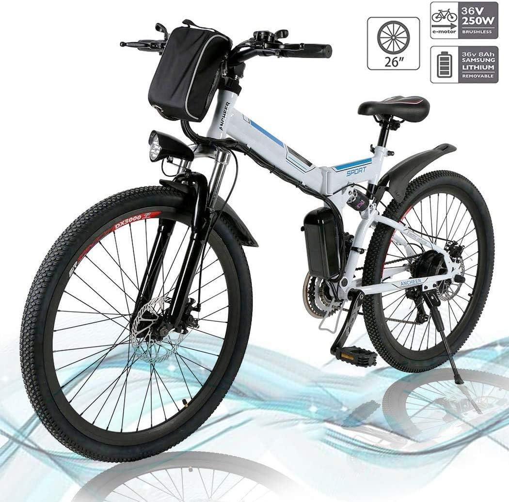 市販 Kemanner 26 inch Electric Mountain Bike 21 正規店 Speed Lithium 36V 8A