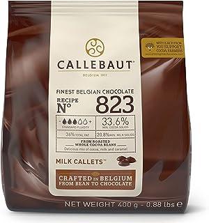 Chocolate con leche en gotas 33,6% Callebaut en bolsa 400
