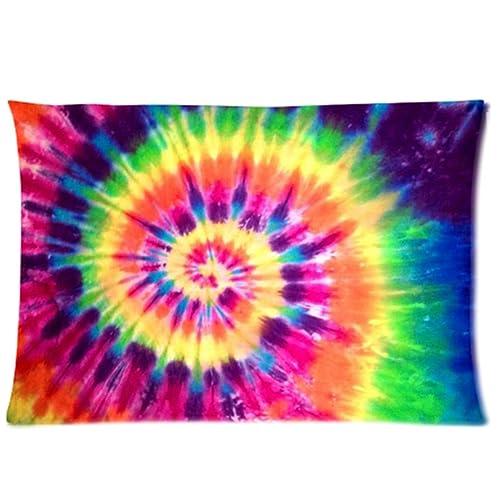 86064b37630a Tie Dye Pillow Case  Amazon.com
