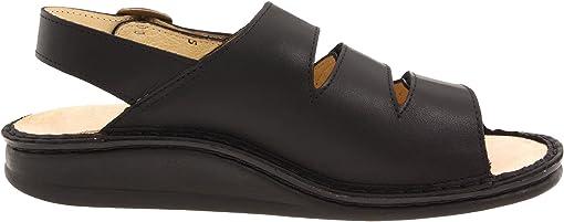 Black Nappa Soft Footbed