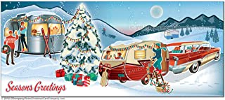 Travel Trailer Christmas Cards, Package of 8