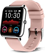 """Donerton Smart Watch, Fitness Tracker for Women, 1.4"""" TFT LCD Screen Smartwatch with Heart Rate..."""