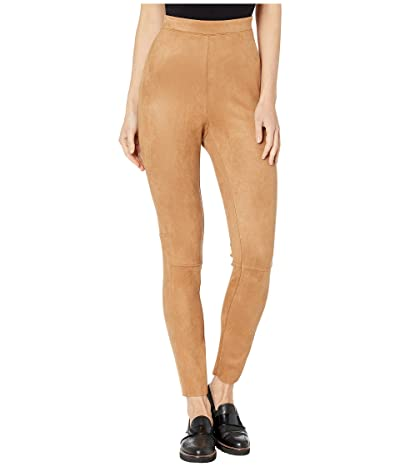 BCBGeneration Faux Suede Scuba Knit Leggings ZVU2215803 (Camel) Women