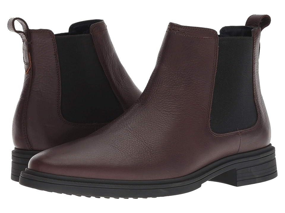 Cole Haan Bernard Chelsea Boot (Chestnut/Black) Men