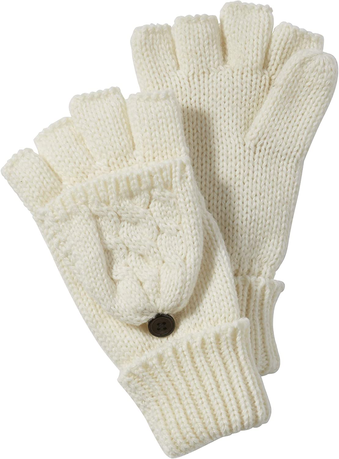 Tickled Pink womens Cableknit Mittens