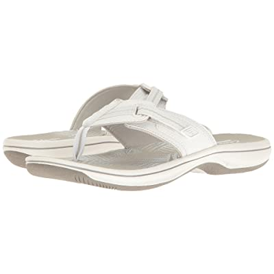 Clarks Brinkley Jazz (White Synthetic) Women