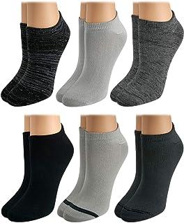 Tahari Women's No Show Super Soft Low Cut Ankle Socks (6 Pack)