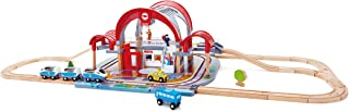 Hape E3725 Grand City Station Railway Playset, Multicolor