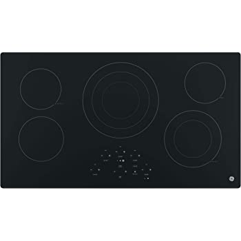 """Empava 36/"""" Electric Stove Induction Cooktop with 5 Booster Burners Including 2 Flexi Bridge Element in Black EMPV-IDCF9"""