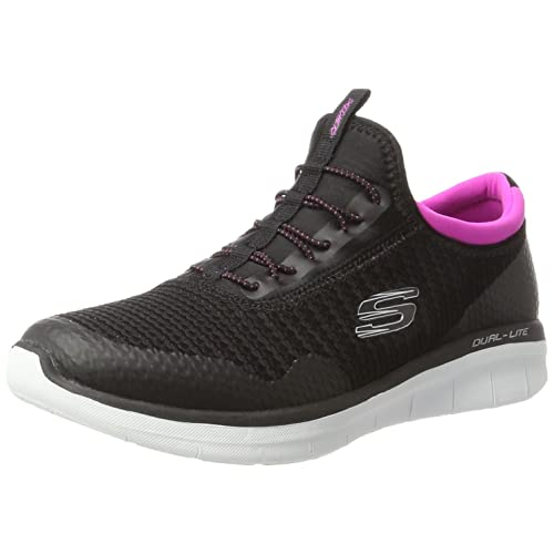 398d9c6ece Women's Black Pink Trainers: Amazon.co.uk